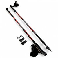 Spokey Zigzag II Red Nordic Walking bot